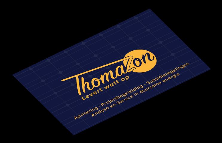 ThomaZon Visitekaartje